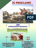 Tema 14b_Jesús Proclamó Las Bienaventuranzas