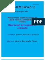 Principales Distribuciones de Linux y Sus Caracteristicas (Tabla)