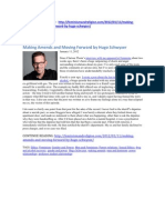 Making Amends and Moving Forward by Hugo Schwyzer