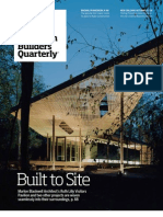 """American Builders Quarterly-- """"Built to Site"""""""