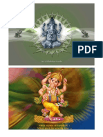 Ganesh Wallpaper 13 x 18 cm