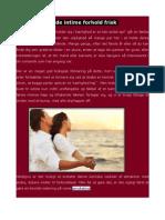 Hvordan Man Kan Genoplive Intimate Relationer