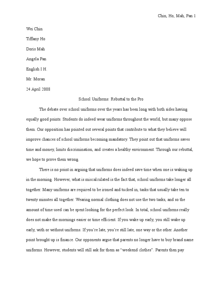 Essay on school uniforms top essay writing an against school