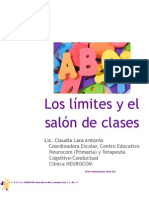 Los límites en el salón de clases
