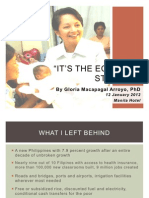 It's the Economy, Student!2- Presentation Version, 1-12-12, Mla Hotel