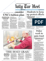 The Daily Tar Heel for January 12, 2012