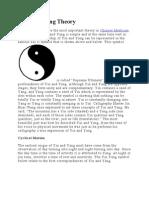 YIN and YANG Theory