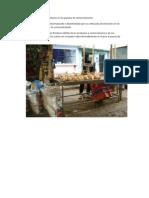 Presentación de los productos en los puestos de comercialización