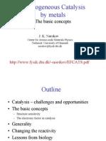 Heterogeneous Catalysis [Basic Concepts] - Jens Norskov