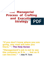 SMThe Managerial Process of Crafting and Executing StrategyVTU.2