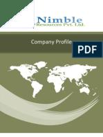 Company Profile of Nimble Resources Pvt. Ltd.