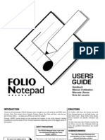 Spirit Notepad User Guide