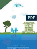 Manila Water 2010 Sustainability Report