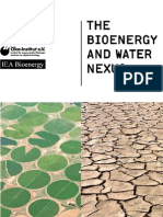 The bioenergy and water nexus