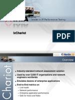 IxChariot Customer Presentation
