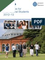 International Tuition Fees 2012.13