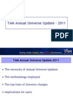 Overview of TV Universe Update-2011