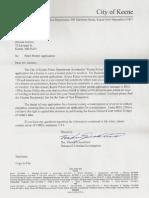 Dec Denial Re Pistol Permit Application