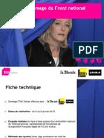 Baromètre d'image 2012 du Front national