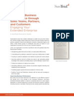 Improving Business Performance through Sales Teams, Partners, and Customers Engaging Your Extended Enterprise