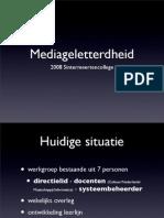 2008-10-30-Mediageletterdheid-Presentatie SMC