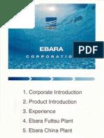 Ebara Pumps Catalogue