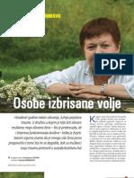 Osobe izbrisane volje (Gorana Tocilj-Šimunković, psihijatrica - intervju u Svjetlu riječi)