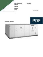 Manual Tehnic Rooftop D5IG-090-300