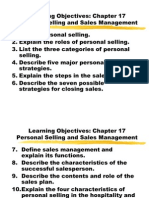 Chapter 17 Personal Selling and Sales Management 545