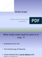 Sinful Israel