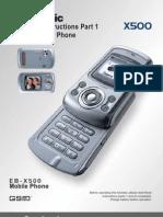 Panasonic X500