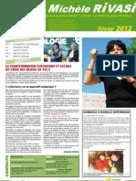 Lettre d'information de Michèle Rivasi - Numéro 5 (janvier 2012)