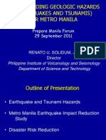 Solidum Earthquake and Tsunami Preparedness 29Sep2011
