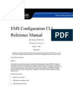 EMS Configuration CLI