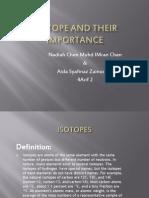 Isotopes by Aida Syafinaz and Nadiah Chen
