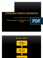 29_Establishing New Universitiies_Parag C Shah