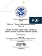 Office of Operations Coordination and Planning