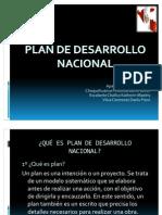 Plan de Desarrollo Nacional....