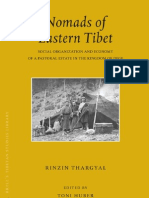 Thargyal Rinzin - Nomads of Eastern Tibet Social Organization and Economy of a Pastoral Estate in the Kingdom of Dege