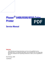 Phaser 8400 8500 8550 Service Manual