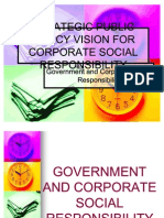 Strategic Public Policy Vision for Corporate Social Responsibility 2