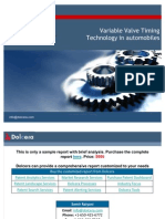 Variable Valve Timing - Technology and Patent Landscape Report - Key Players, Innovators and Industry Analysis