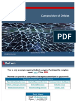 Composition of Oxides - Patent and Technology Report - Key Players, Innovators and Industry Analysis