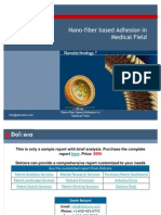 Nanofiber Based Adhesives in Medical Field - Competitor and Patent Landscape Report - Key Players, Innovators and Industry Analysis