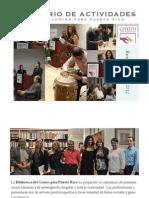 ACTIVIDADES - Biblioteca Centro para Puerto Rico enero - febrero 2012