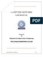 JNTU B.tech Computer Networks Lab Manual All Programs (1)