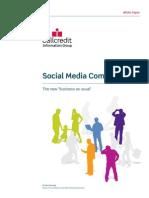 Social Media Comes of Age White Paper PK 2011