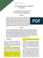 Sistema de Informação para Classificação de Clientes
