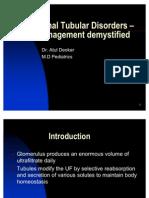 Copy of Renal Tubular Acidosis