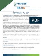 Finanzas al Día 12.01.12